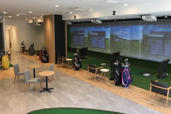 シミュレーションゴルフ施設